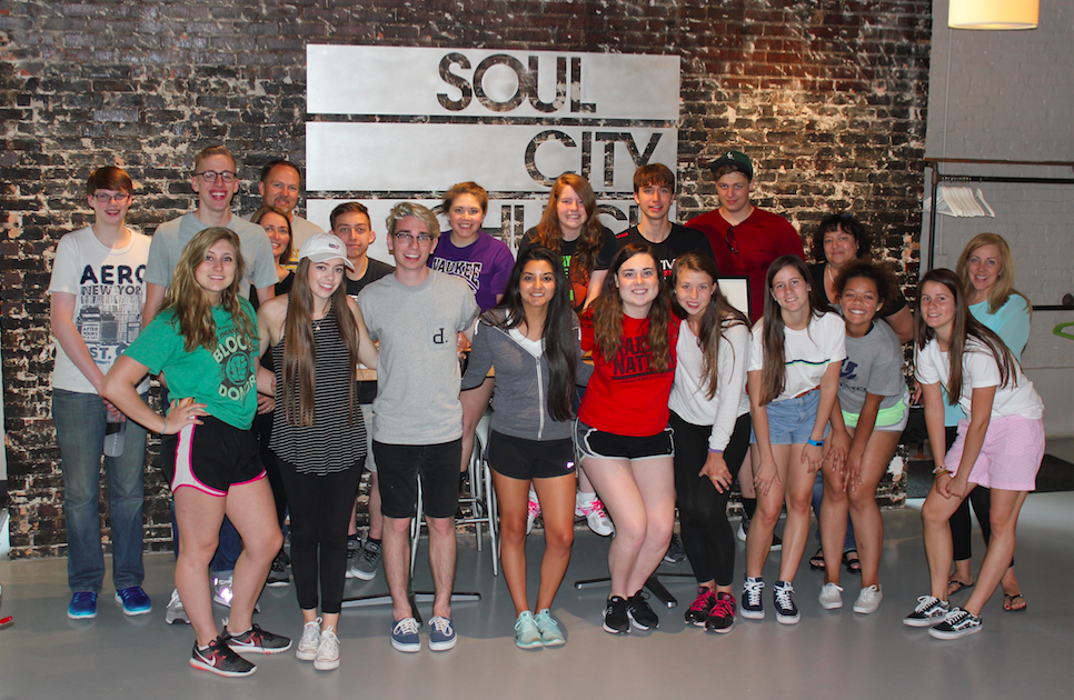 Leading Families... On Purpose | ICA High School Students who served at Soul City Church for their Senior Class Trip